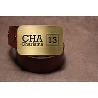 Dungeons & Dragons Charisma Belt Buckle