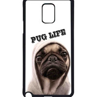 Funny Pug Life  For Samsung Galaxy Note 4 Case *