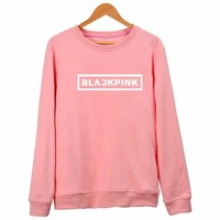 New Fashion Sweatshirt  KPOP BLACKPINK Hoodies For Men Women JENNIE ROSE LISA JISOO Album Fleece Pullovers Plus Size XXXXL