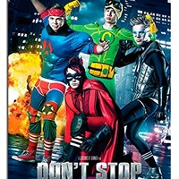 5sos Don't Stop 5 Seconds Of Summer Poster Satin Matt Laminated - 91.5 x 61cms (36 x 24 Inches)