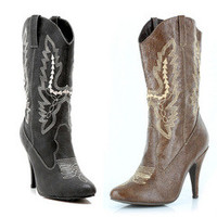 """Women's 4"""" Heel Ankle Cowgirl Boot"""