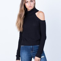 Chunky Knit Sweater Top