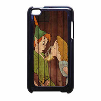 Wendy Kiss Peterpan Wood iPod Touch 4th Generation Case