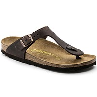 Birkenstock Gizeh Oiled Leather Habana 743831 Sandals - Ready Stock