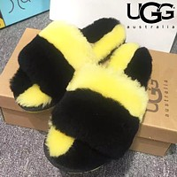 UGG Fashion Wool Fur Slippers Shoes