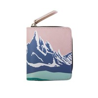 Snow Mountain Small Wallet
