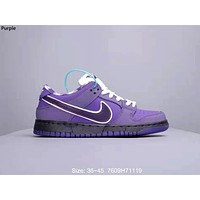 Nike SB Dunk Low x Concepts Joint Casual Casual Low Cut Casual Shoes Purple
