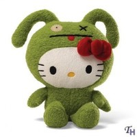 Hello Kitty Ugly Doll Ox - 7 in Plush