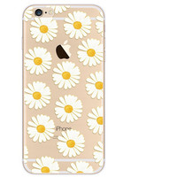 Daisy Case TPU Cover for iphone 7 7 Plus & iphone 6 6s Plus & iphone se 5s + Gift Box