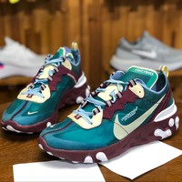 [Free Shipping ]Undercover X Nike React Element AQ1813-341  Basketball  Sneaker