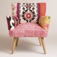 Mixed Print Etta Chair