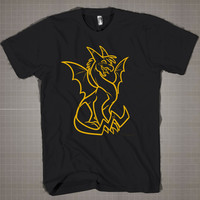 POKEMON DRAGON  Mens and Women T-Shirt Available Color Black And White