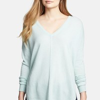 Women's autumn cashmere High/Low Cashmere Sweater,
