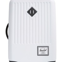 Men's Herschel Supply Co 'Trade - Small' Rolling Hard Shell Suitcase - White (20 inch)