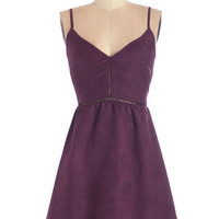 ModCloth Mid-length Spaghetti Straps A-line Fall Music Festival Dress