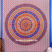 Elephant Mandala Tapestry, Indian Hippie Tapestries, Bohemian Tapestries, Tapestry Wall Hanging, Wall Tapestries, Dorm Bed Spread, Wall Art