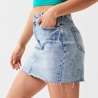 Vintage Medium Blue 5-Pocket Skirt | PacSun
