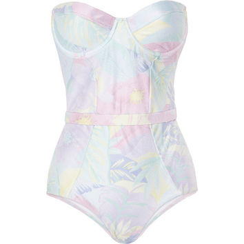 Zimmermann Sorbet Floral Clique underwired swimsuit