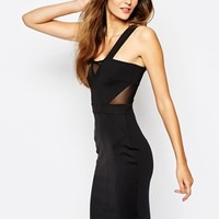 French Connection Sicily Bodycon Dress in Scuba