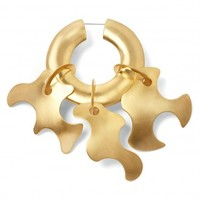 Tibi Paige Novick for Tibi Single Sculpture Earring