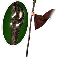Hobbit Staff of Gandalf FX Replica