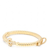 Coach :: Anchor Rope Hinged Bracelet