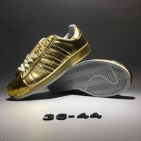 """""""Adidas Originals Superstar ll"""" Unisex Fashion Casual Classic Shell Head Plate Shoes Couple Sneakers"""