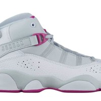 NIKE Jordan 6 Rings GP Girls Fashion-Sneakers 323431