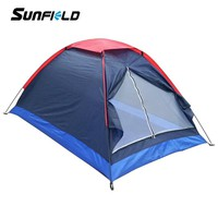 Sunfield Camping Tent for 2 Person Summer Outdoor Camping Tent  for Hiking Backpacking Fishing Tourist Tent