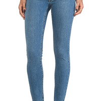 Cheap Monday Super Stretch Skinny in Credit Light Blue
