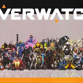 Overwatch Video Game Characters Poster 24x36