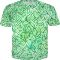 Green foliage T-Shirt