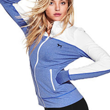 PINK ULTIMATE TRACK JACKET - PINK - Victoria's Secret