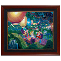Disney Mad Hatter Tea Party Limited-Edition Giclée | Disney Store