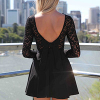 THE LUCKY ONE DRESS , DRESSES, TOPS, BOTTOMS, JACKETS & JUMPERS, ACCESSORIES, 50% OFF SALE, PRE ORDER, NEW ARRIVALS, PLAYSUIT, COLOUR, GIFT VOUCHER,,LACE,BACKLESS,Black Australia, Queensland, Brisbane
