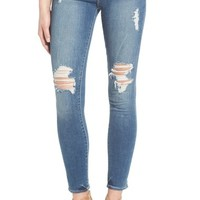 Articles of Society 'Karen' Distressed Crop Skinny Jeans (South Beach) | Nordstrom