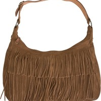 MINNETONKA HOBO FRINGE BAG | Swell.com