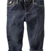 Skinny roll-up jeans