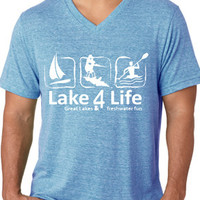 Freshwater Fun Great Lakes T-shirt - Lake4Life - Promoting and preserving the Great Lakes lifestyle