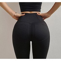 Janet- High Waisted Yoga Pants