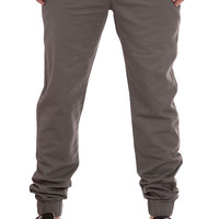 The Slim Chino Joggers in Grey