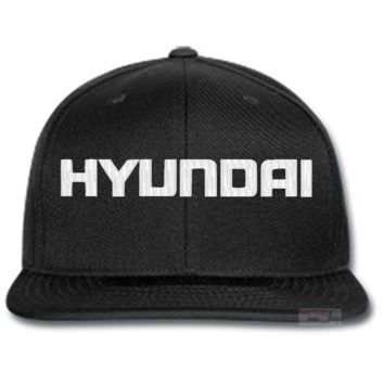 HYUNDAI EMBROIDERED beanie or SNAPBACK hat
