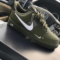 Nike Air Force 1 07 Lv8 Nba Pack Leisure Board Shoes