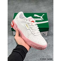 PUMA Smash Platform L High rise casual shoes with thick soles and small white shoes
