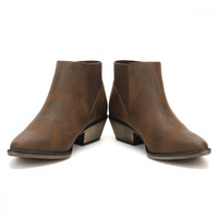 Rocket Dog Womens Brown Graham Alarm Boots