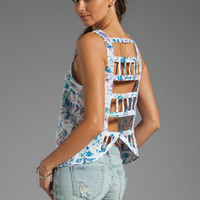 Lovers + Friends Loving You Top in Batik from REVOLVEclothing.com
