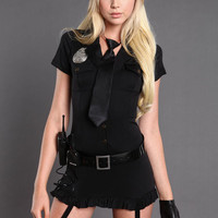DIRTY COP COSTUME BY LEG AVENUE