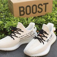 DCCK Adidas Yeezy Boost 350V2 x OFF-WHITE