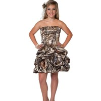 Short Camo Homecoming Dress | New Arrivals