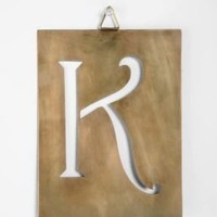 UrbanOutfitters.com > Industrial Letter Stencils